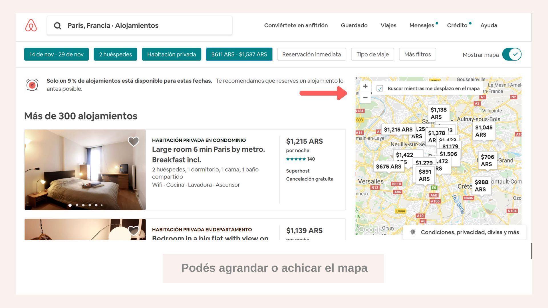 como reservar en airbnb