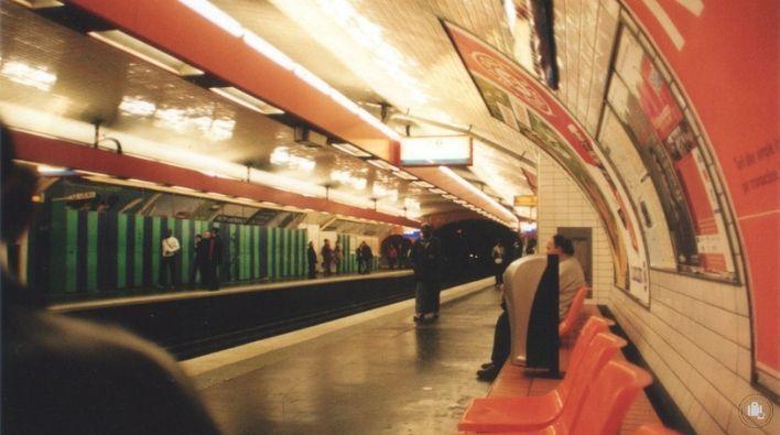 Metro París Transporte Público París ser Viajera