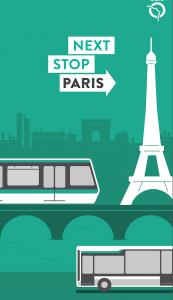 Paris Transporte Público Ser Viajera