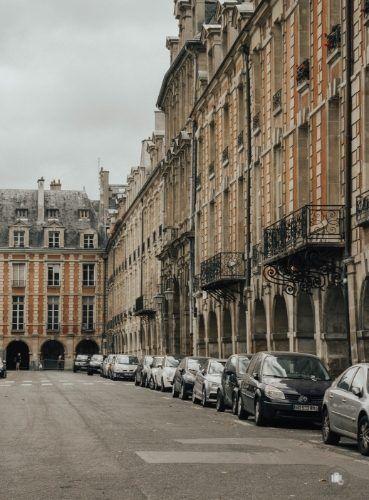 Place des Vosges Paris no se acaba nunca Ser Viajera