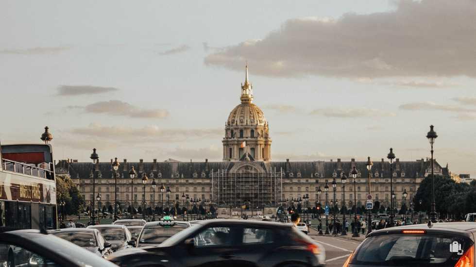Explanada Invalides París Rive Gauche