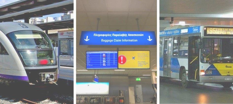como ir del aeropuerto de atenas al centro traslado aeropuerto atenas #atenas #grecia #tren #tickets #metro #serviajera
