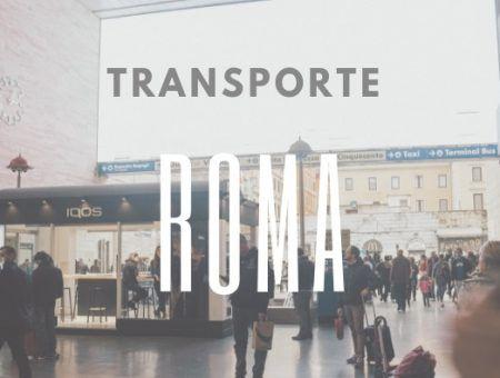 como moverse por roma