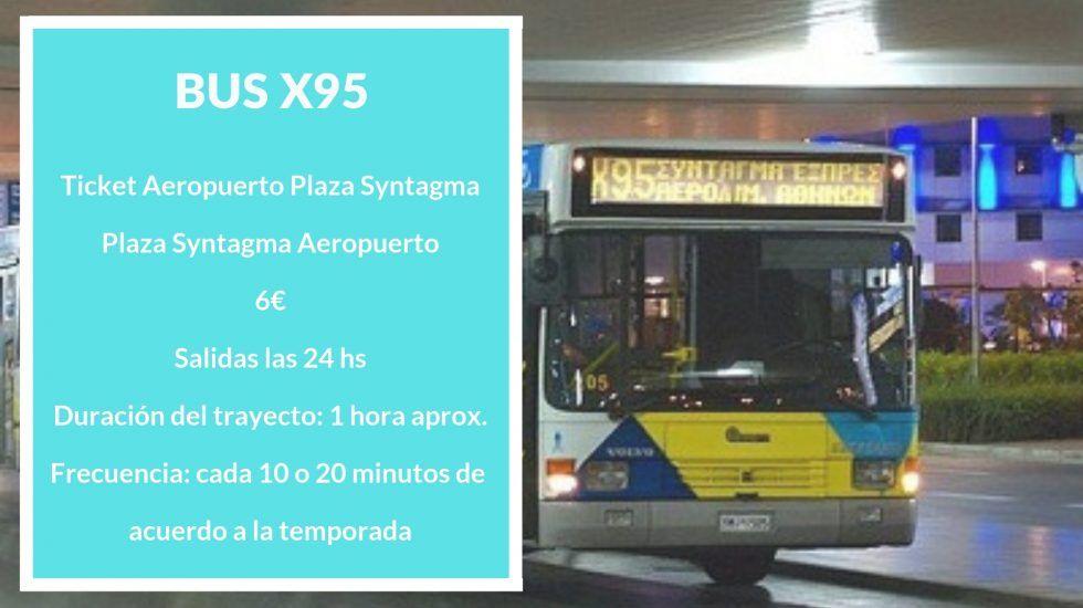 transporte aeropuerto atenas centro bus #traslados #precio #serviajera
