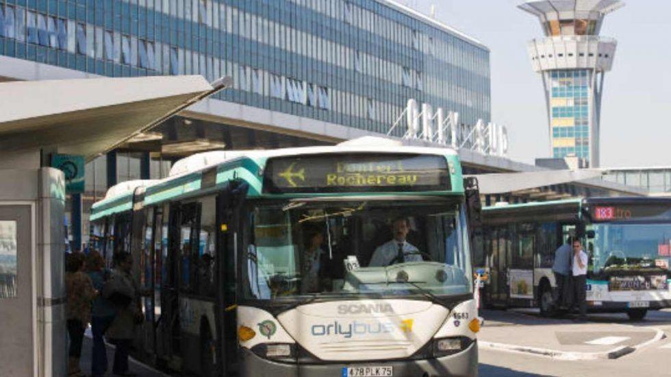 como ir del Aeropuerto Orly al Centro en Bus