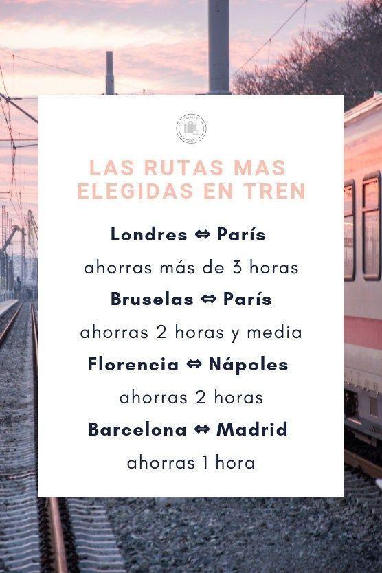 rutas mas elegidas pasajes baratos de tren europa
