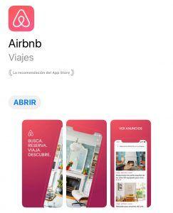 app alojamiento airbnb