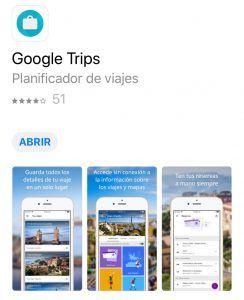 app ara planificar viajes