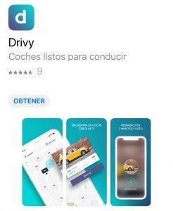 app para alquilar auto