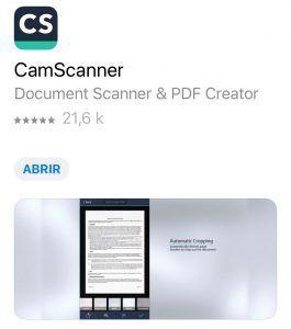 app para guardar documentos de viajes
