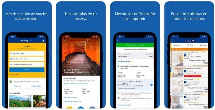 app booking alojamiento