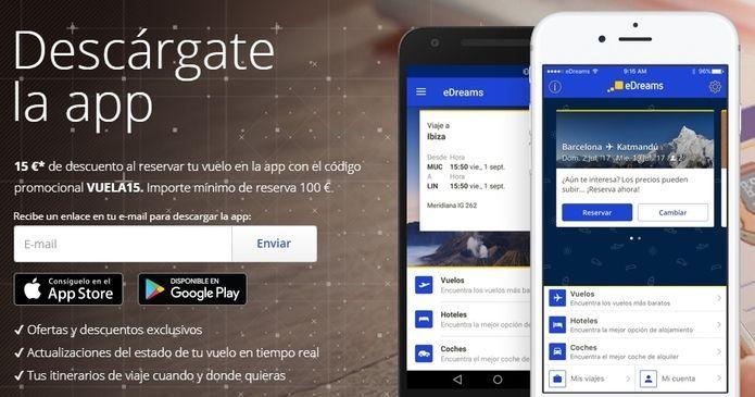 apps vuelos baratos