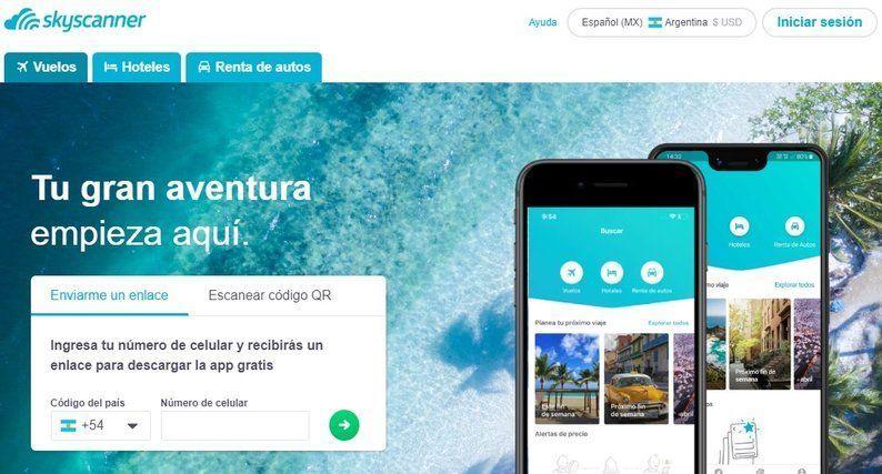 app para vuelos