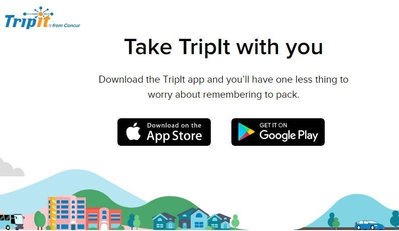 app para planificar viajes