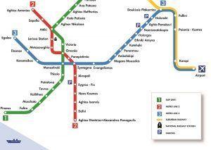 Plano Metro de Atenas