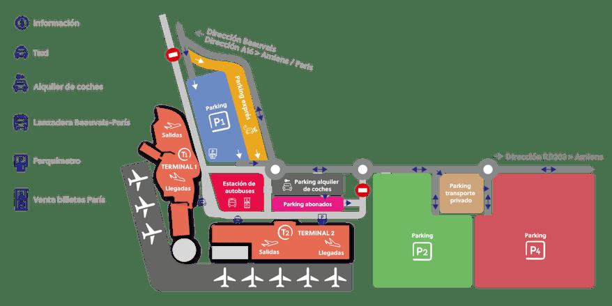 aeropuerto parís beauvais