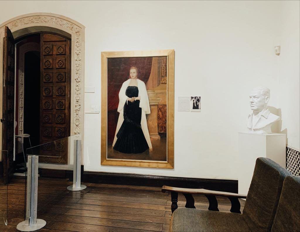 sala principal museo evita
