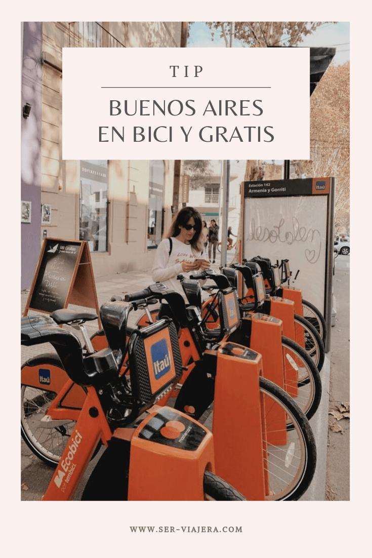 como recorrer buenos aires en bicicleta