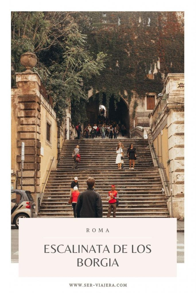 escalinata borgia roma