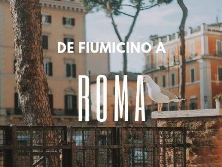 como llegar a roma desde fiumicino