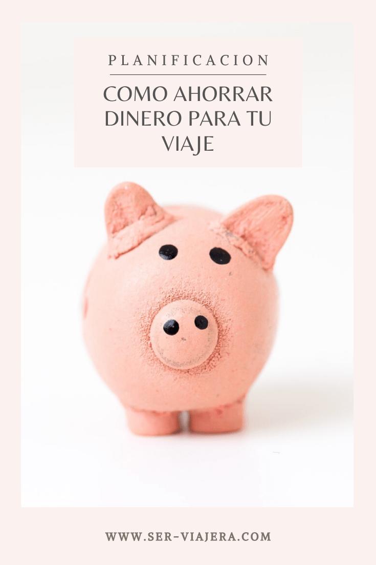 ahorrar dinero para un viaje