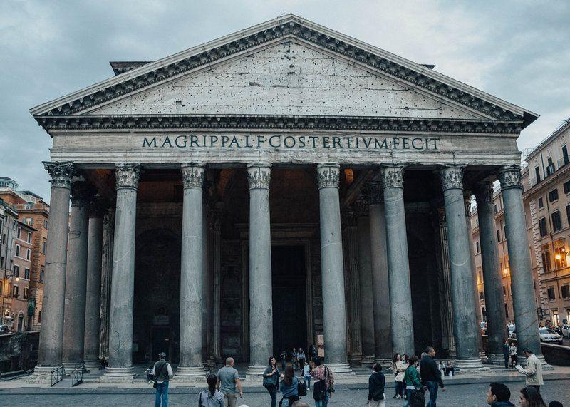panteon romano arquitectura