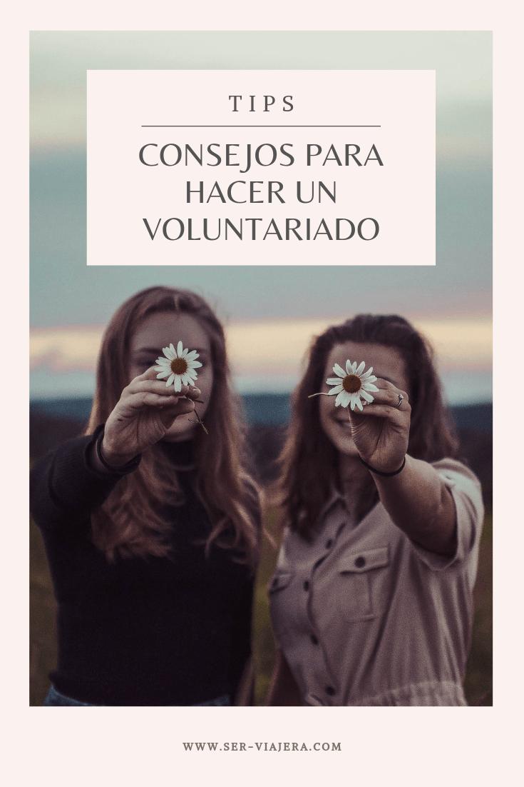 consejos para hacer un voluntariado