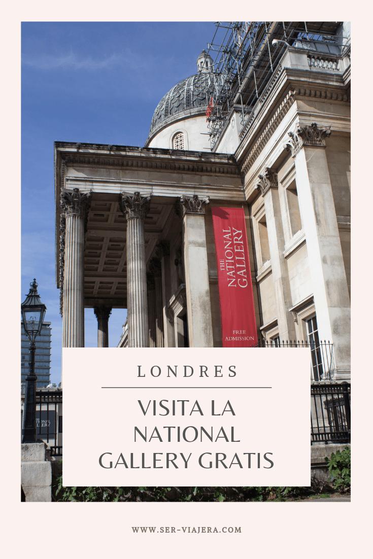 museos gratis de londres national gallery london