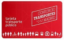 tarjeta de transporte multi madrid