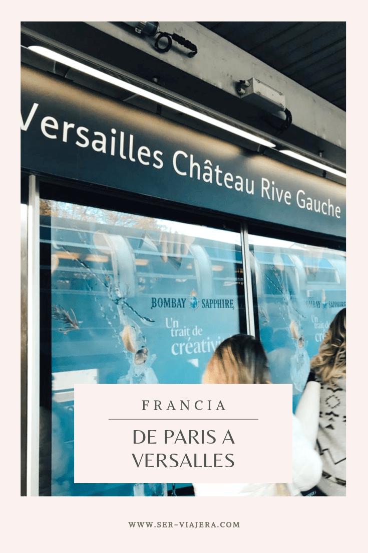 tren de paris a versalles
