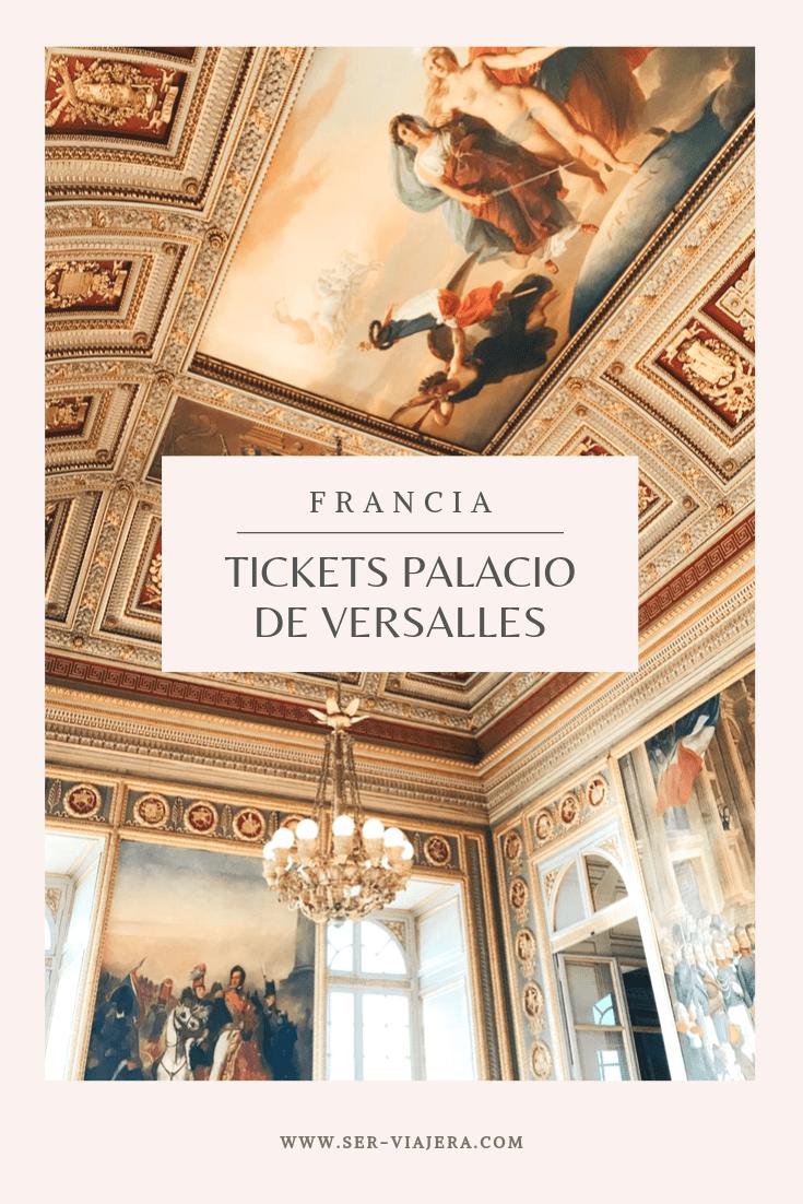tickets palacio de versalles