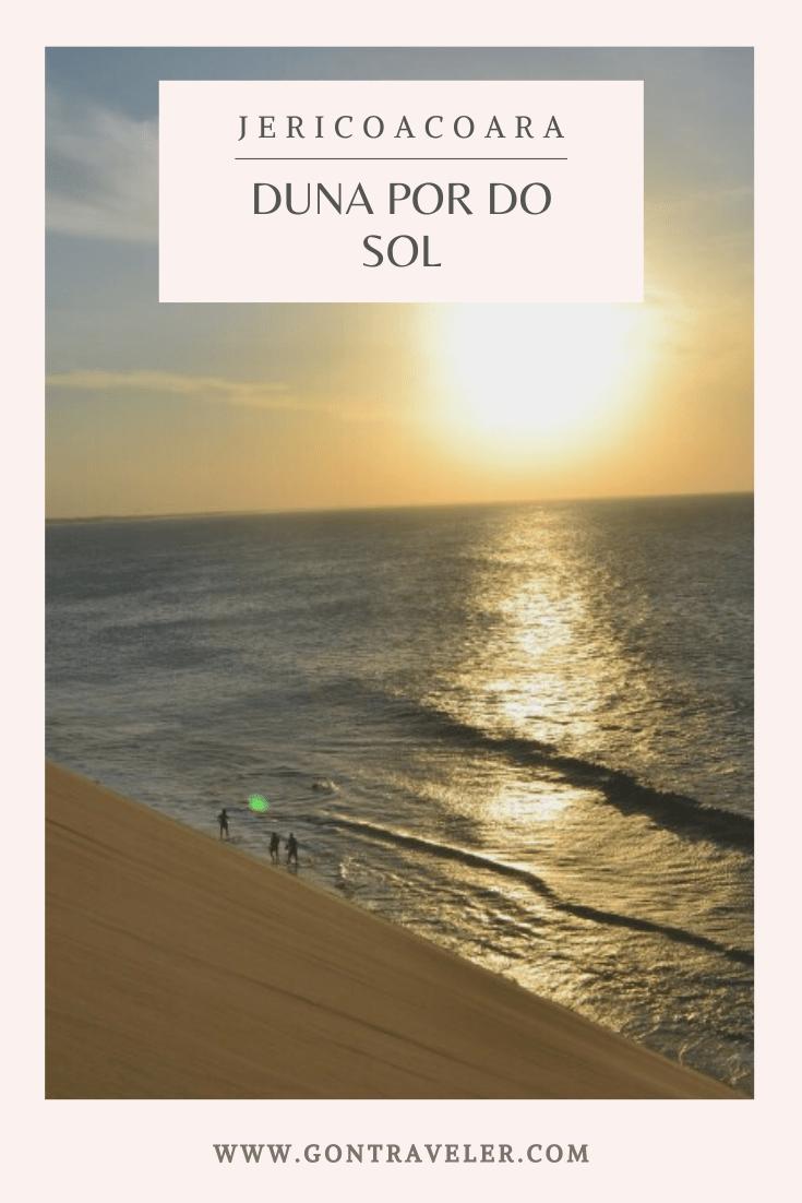 duna por do sol jericoacoara ser viajera