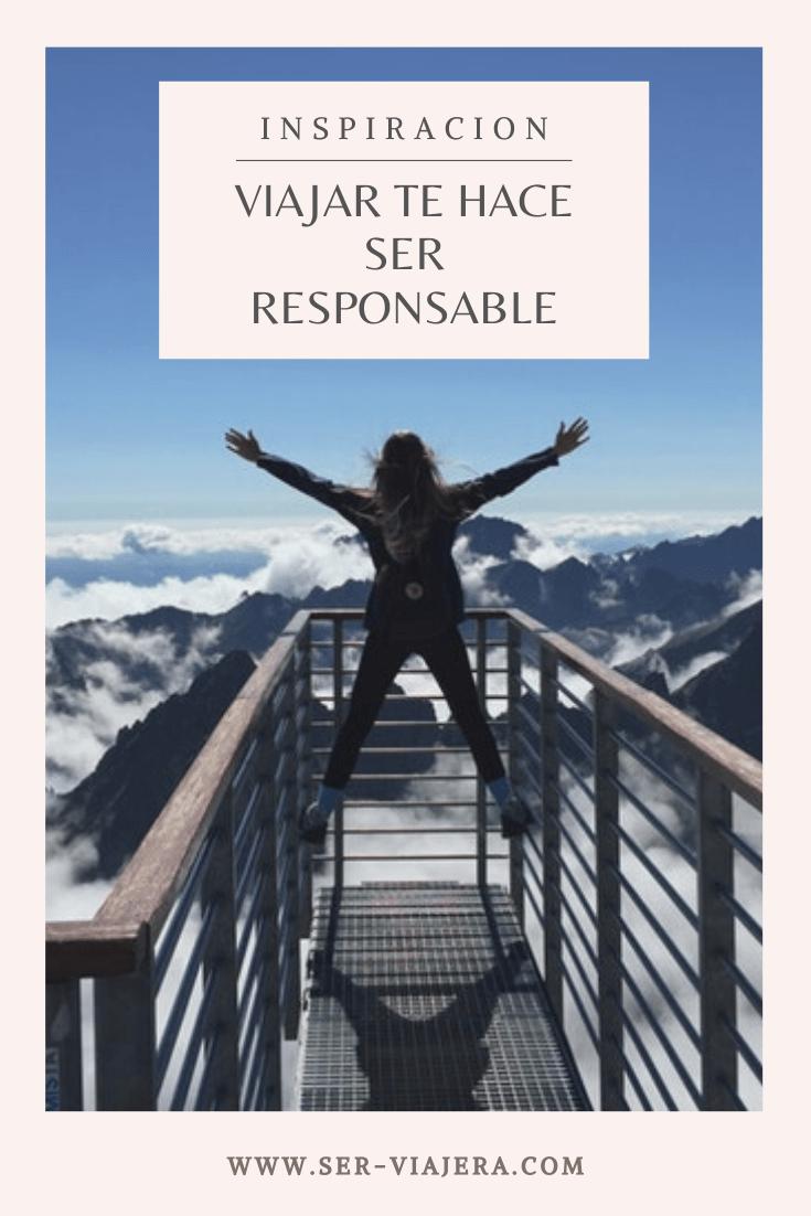 viajar te hace ser responsable