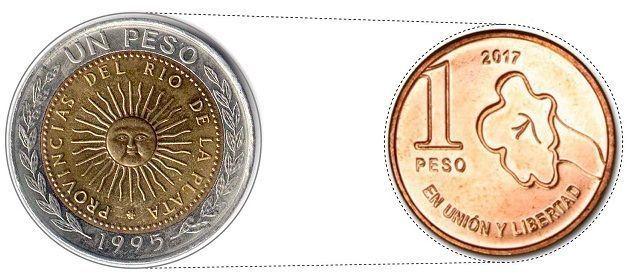 monedas de argentina ser viajera