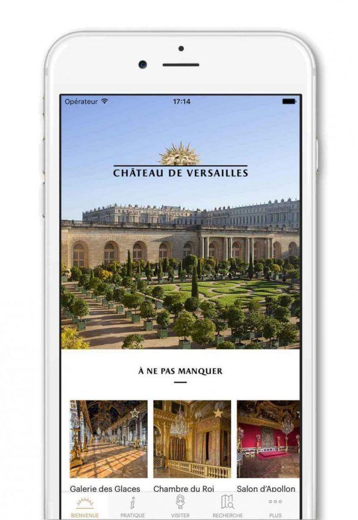 app palacio de versalles