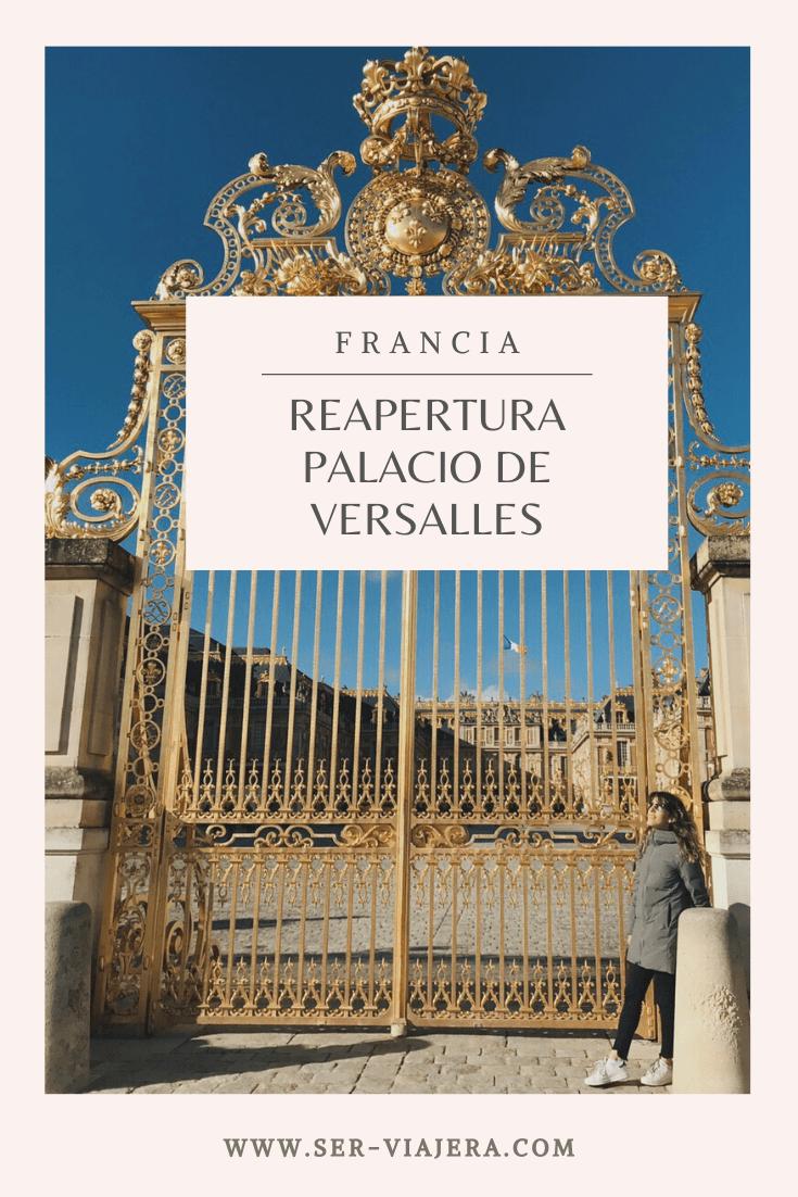 palacio de versalles francia ser viajera