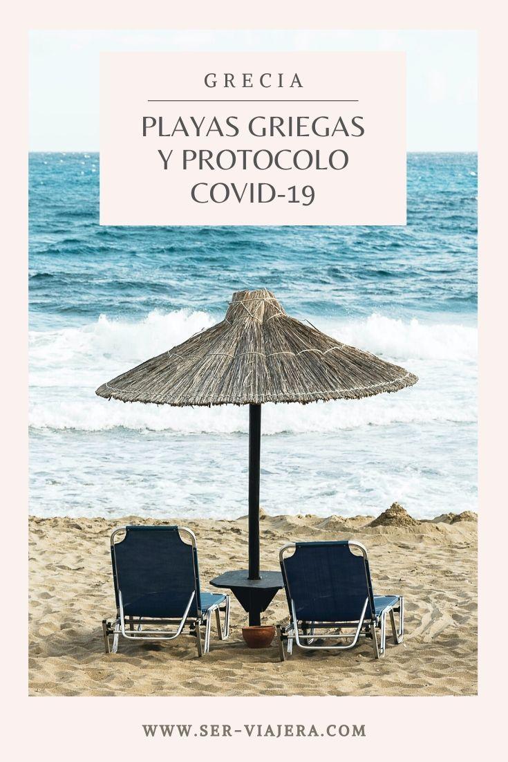 protocolos covid19 en playas griegas