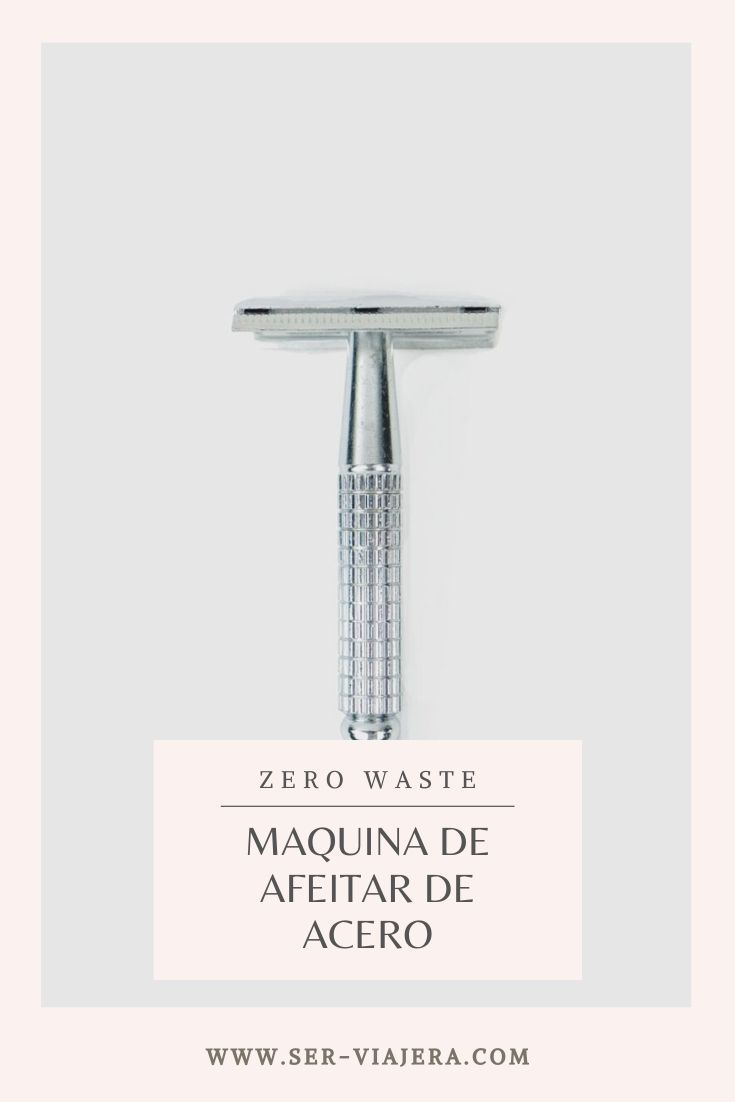 maquina de afeitar reutilizable