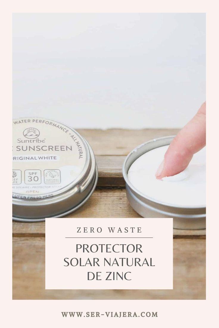 protector solar natural de zinc